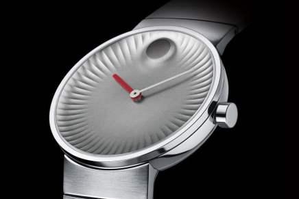 Movado y el diseñador Ives Béhar se asocian para crear esta maravillosa pieza de la relojería
