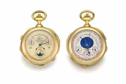 """""""Caliber 89"""", Sotheby's subastará el próximo mes el reloj más complicado """"hasta la fecha"""" de Patek Philippe"""