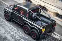 "Land Rover Defender Flying Huntsman: Una descomunal ""BESTIA 6×6"""
