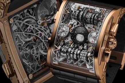 """Complicaciones tras complicaciones:  Hysek presenta el """"Colossal Grande Complication"""", ultra exclusivo reloj de ~$700.000"""