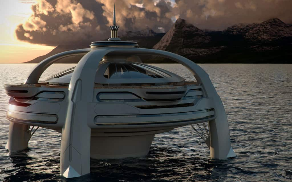 Project Utopia, mega lujosas y paradisíacas islas flotantes