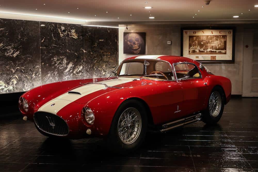 Maserati A6GCS/53 Berlinetta por Pinin Farina1954