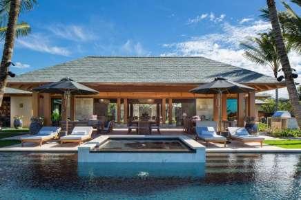 Este mega espectacular paraíso tropical en Kailua-Kona, Hawái está ahora a al venta por $11.9 millones