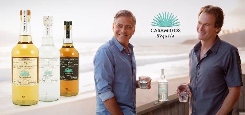 El patrimonio neto de George Clooney se dispara con la venta de su marca de tequila Casamigos