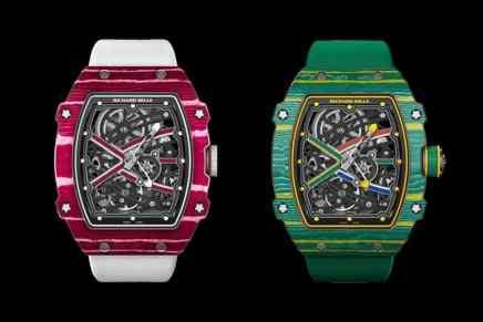 Richard Mille presenta dos nuevos relojes: RM 67-02 Sprint y High Jump