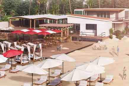 ¡Check in y relajate! Primer airpot lounge del mundo en una playa