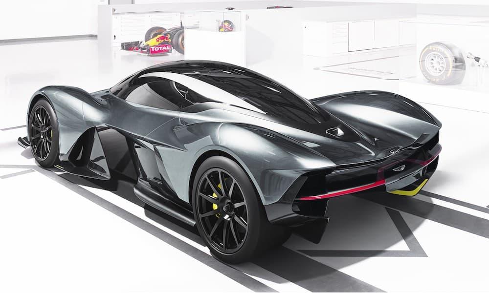 Aston Martin Valkyrie (3,9 millones de dólares)