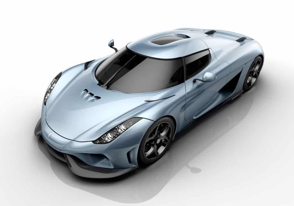 Koenigsegg Regera (1,8 millones de dólares)