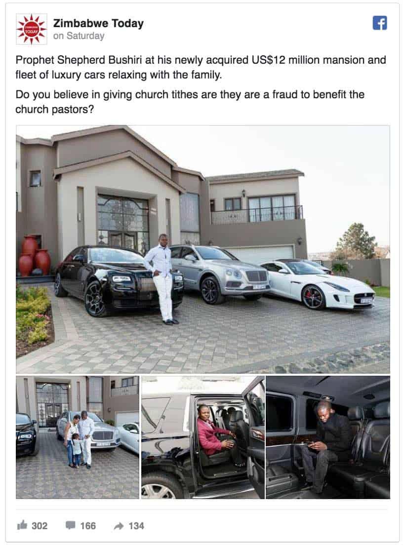 Famoso Pastor paga más de $12 millones en una nueva mega mansión y se jacta de sus lujosos coches
