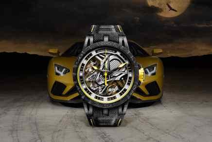 Lamborghini & Roger Dubuis presentan el: Aventador S Excalibur