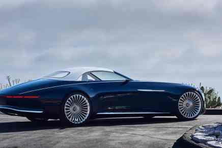 El nuevo Mercedes-Maybach 6 Cabriolet te dejará sin aliento