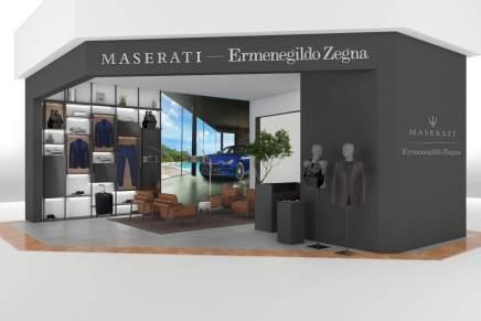 Ermenegildo Zegna y Maserati abren su primera Pop-Up Store en México