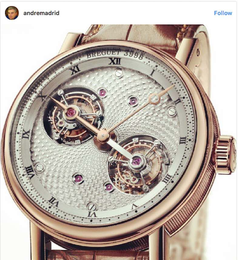 Breguet Double Tourbillon Baguette Diamonds
