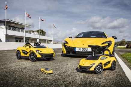 ¡¡Cool!! Ahora hay un McLaren P1 para cada miembro de la familia