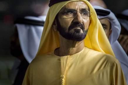 JEQUE Mohammed bin Rashid Al Maktoum — Gobernante de Dubai — Patrimonio neto: $8 MIL MILLONES
