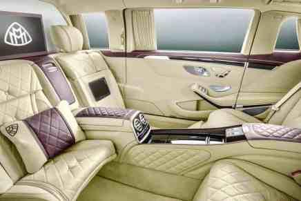 Mercedes-Maybach S600 Pullman 2018 – Lo MEJOR de lo MEJOR