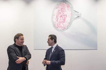 """Christie's: La promesa más cara del mundo, el diamante """"Pink Promise"""", se vende por la suma de $32 millones"""