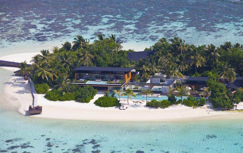 Pasar una noche en esta ultra exclusiva isla privada de las Maldivas te costará $45.000