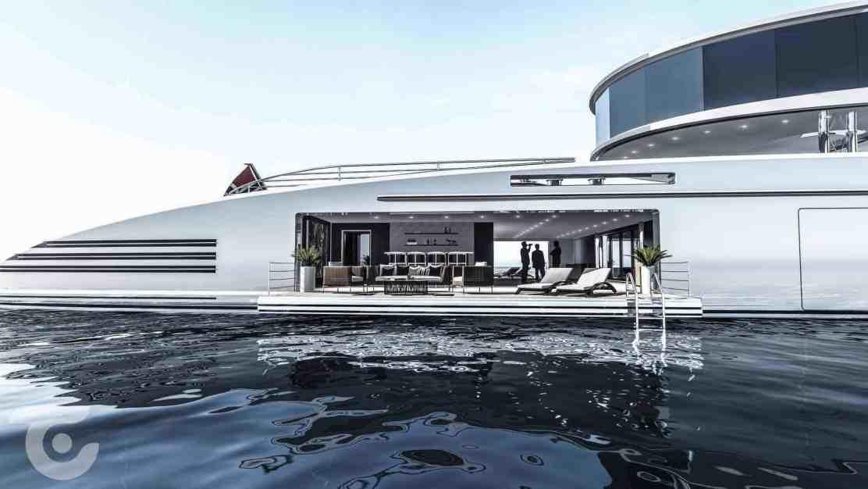 MESD 100: El nuevo concepto de súper yate con bandera noruega
