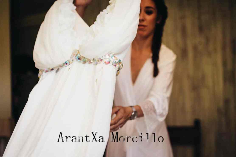 Arantxa Morcillo: novias y ceremonia hecha a la medida
