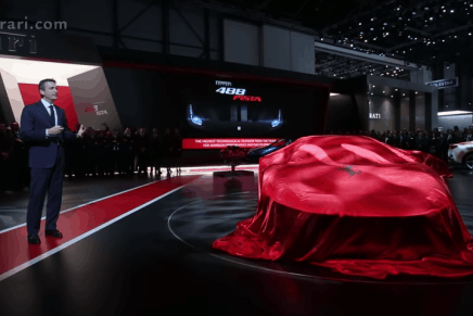 Presentación del Ferrari 488 Pista en la 88º Salón Internacional del Automóvil de Ginebra