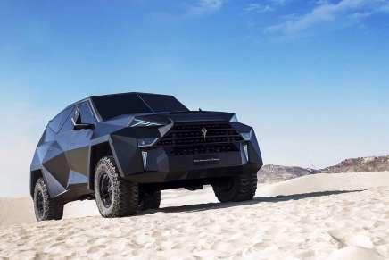 Karlmann King, la SUV más cara del mundo:  Seis toneladas de una armadura de lujo por $2 millones