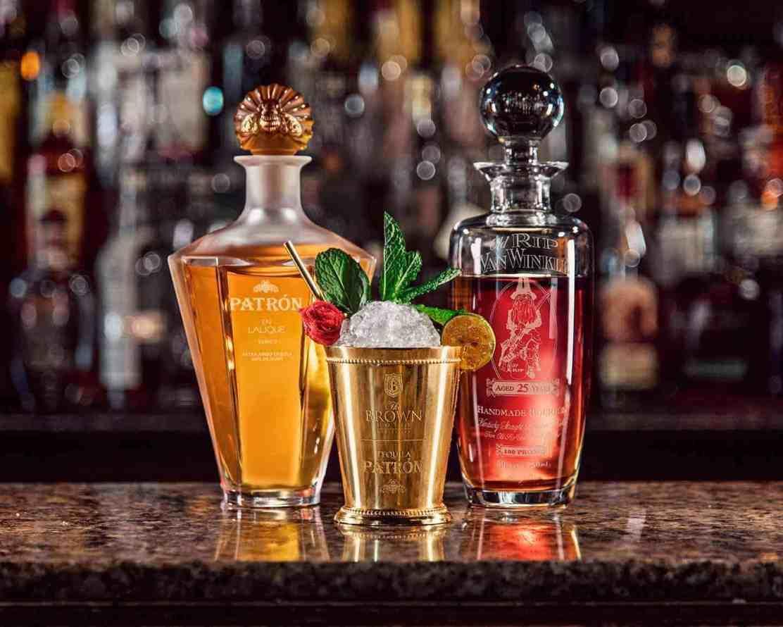 Celebre el Cinco de Mayo disfrutando de este cóctel con tequila Patrón de $1.500