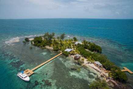 ¿Cómo puede alquilar tu propia isla privada en Belice?…  ¡No es tan caro como piensas!