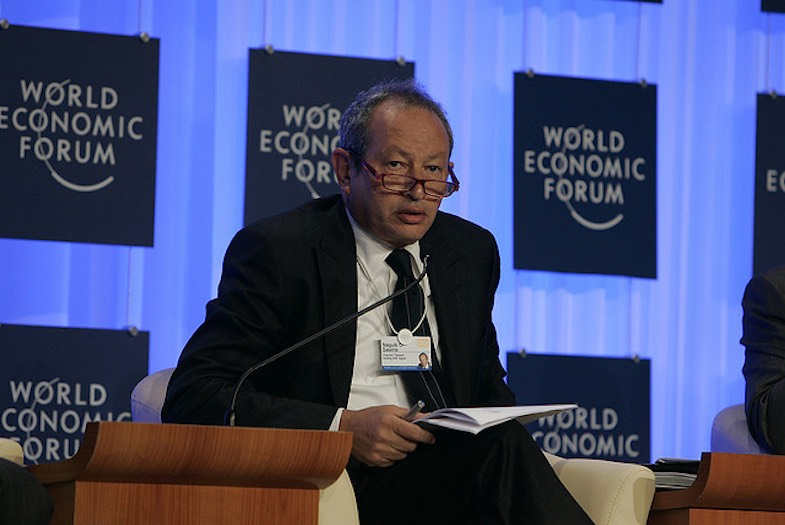 Multimillonario egipcio Naguib Sawiris