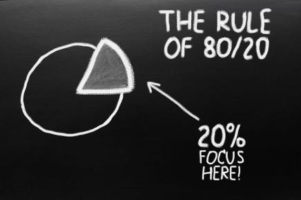 Principio de Pareto: Cómo la Regla del 80-20 podría cambiar increíblemente tu vida