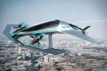 ¡Justo para el agente 007! — Aston Martin presenta Volante Vision Concept VTOL