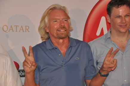"""Para el multimillonario Sir Richard Branson el """"éxito"""" va más allá del dinero"""