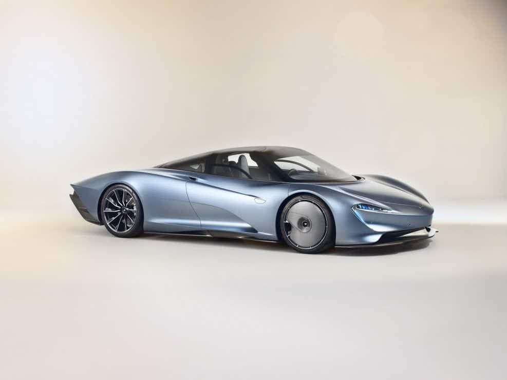 El Speedtail de McLaren es el digno sucesor del F1