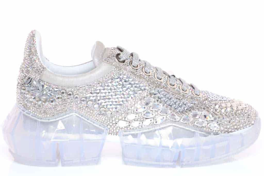 "Jimmy Choo presenta las exclusivas zapatillas deportivas ""Diamond"" de $3.995"