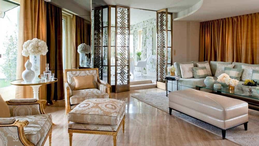 Penthouse Apartment en el Hotel Georges V, París, Francia