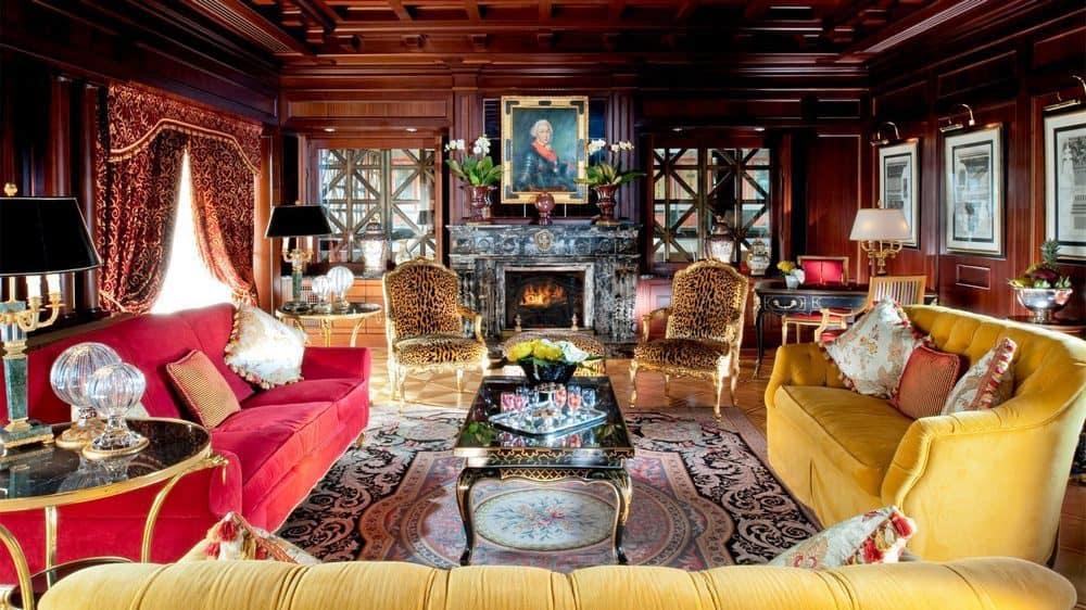 Suite presidencial en el Hotel Principe di Savoia, Milán, Italia