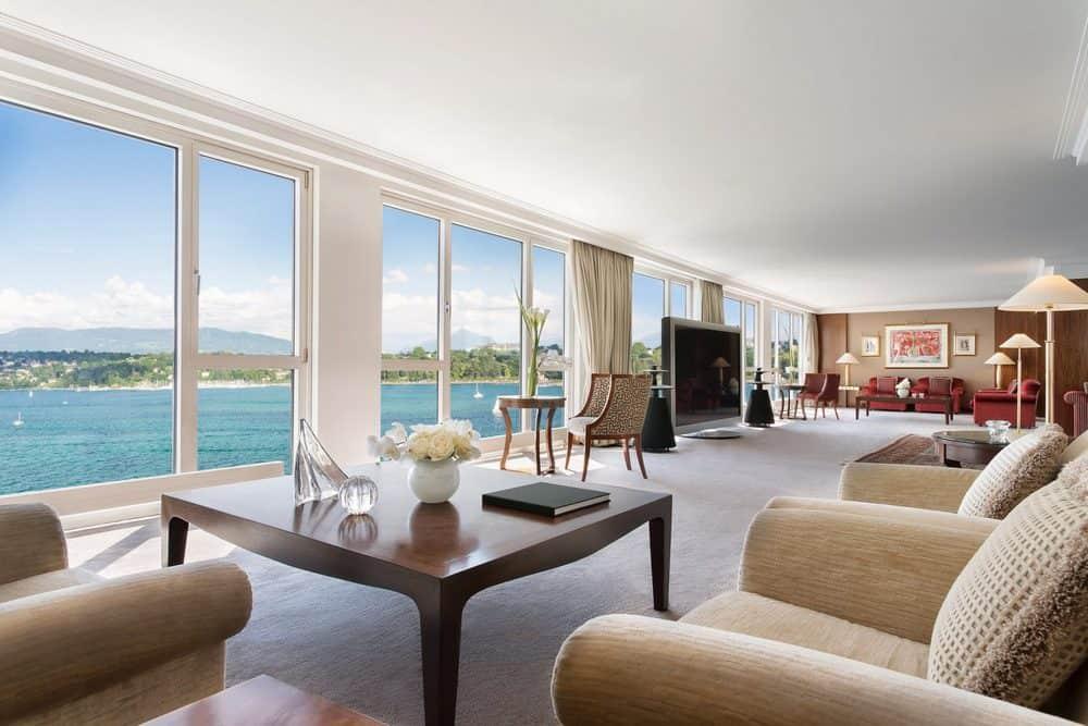 Royal Penthouse en el Hotel President Wilson, Ginebra