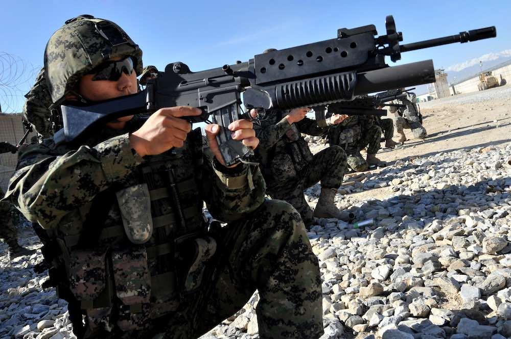 Soldado de Corea del Sur