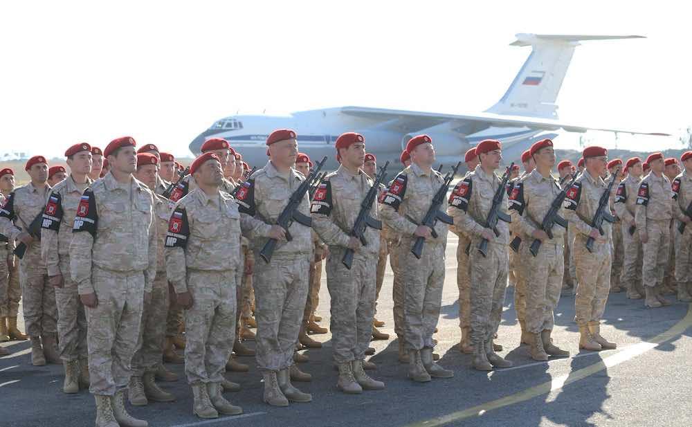 Soldados de Rusia