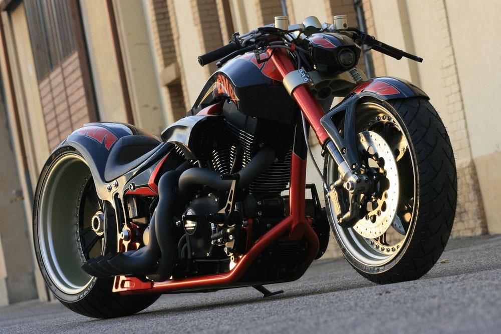 """""""THE ONE"""" de Fat Attack AG: Una Harley Davidson en esteroides"""