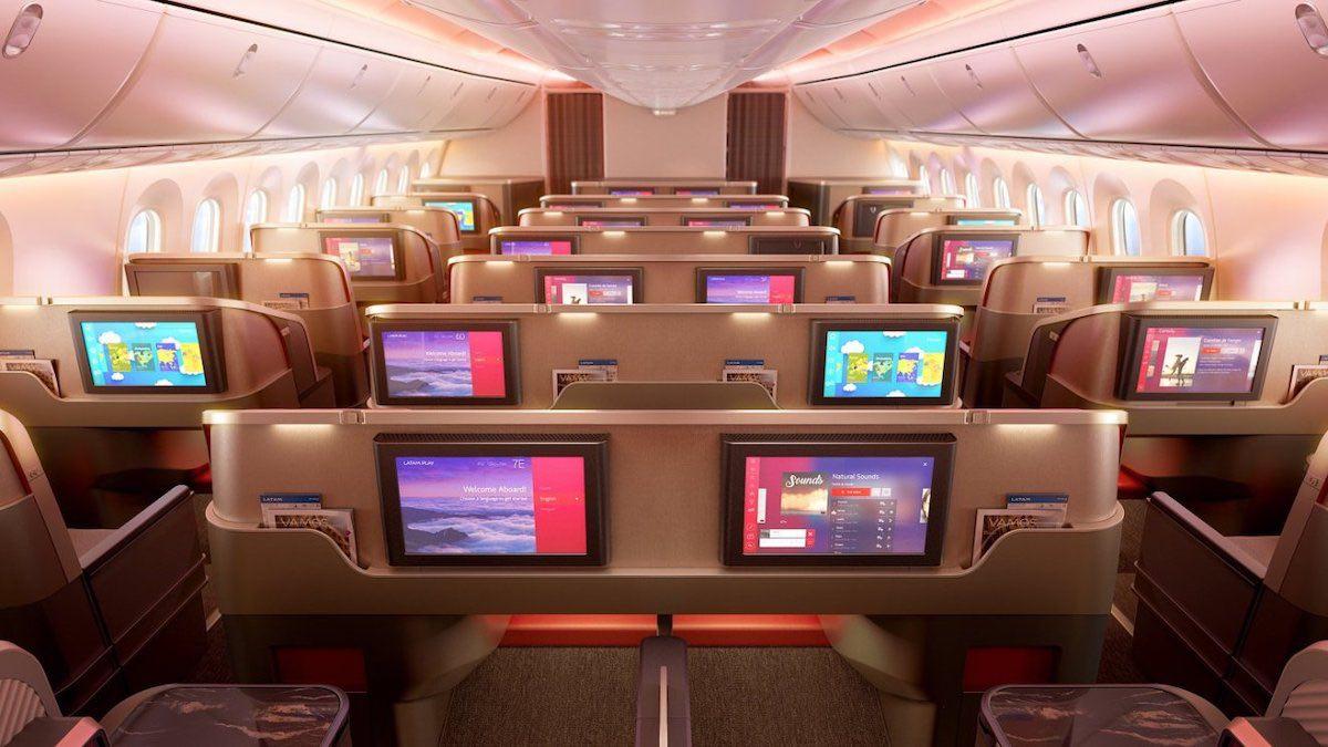LATAM rediseñará las cabinas de su flota de 200+ aviones con la ayuda de PriestmanGoode para dar una experiencia de vuelo única a cada uno de sus pasajeros