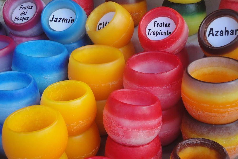 Fabricación y venta de velas aromáticas