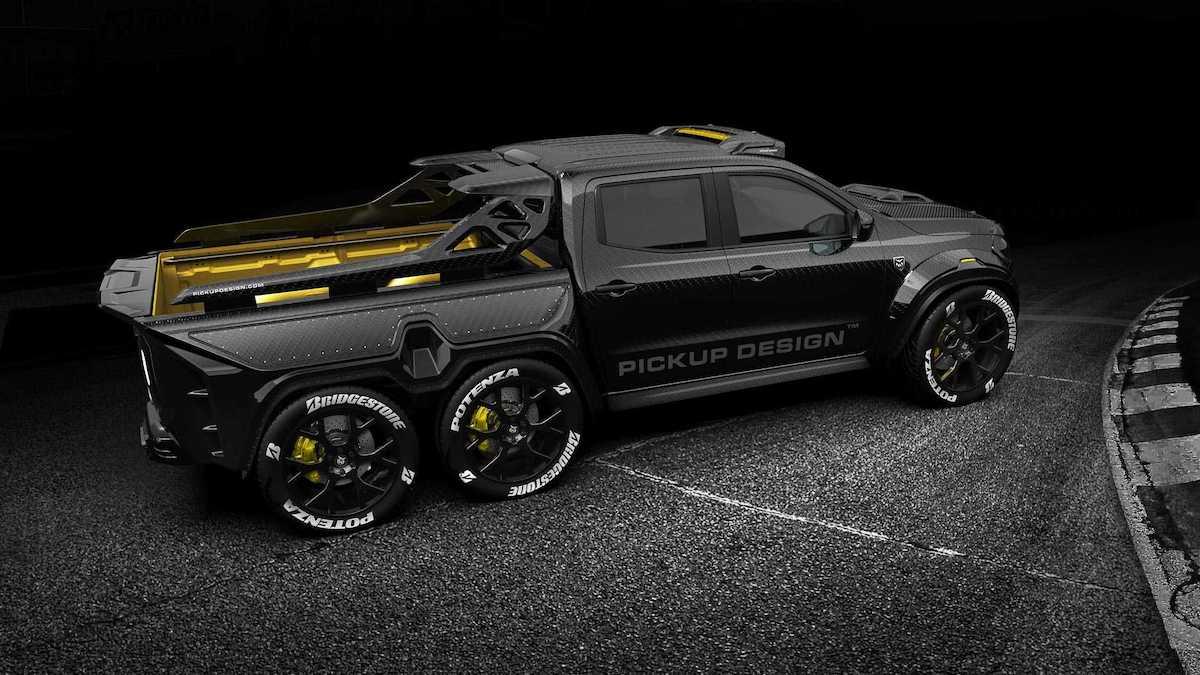 "BESTIAL Mercedes-Benz X-Class ""EXY Monster X"", nuevo camioneta concepto 6X6 por Carlex Design"