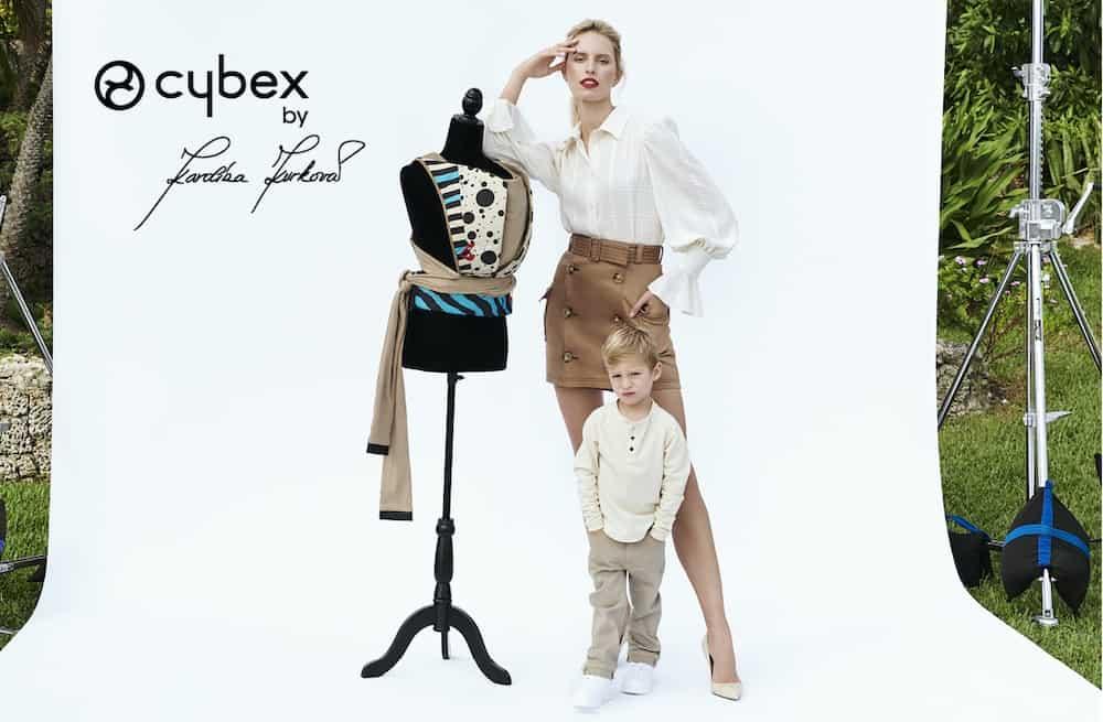 La supermodelo Karolina Kurkova presenta colección de productos de lujo para niños