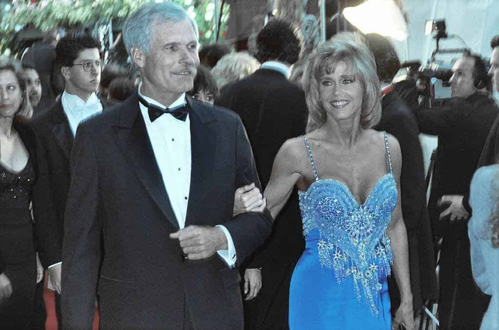Ted Turner y Jane Fonda