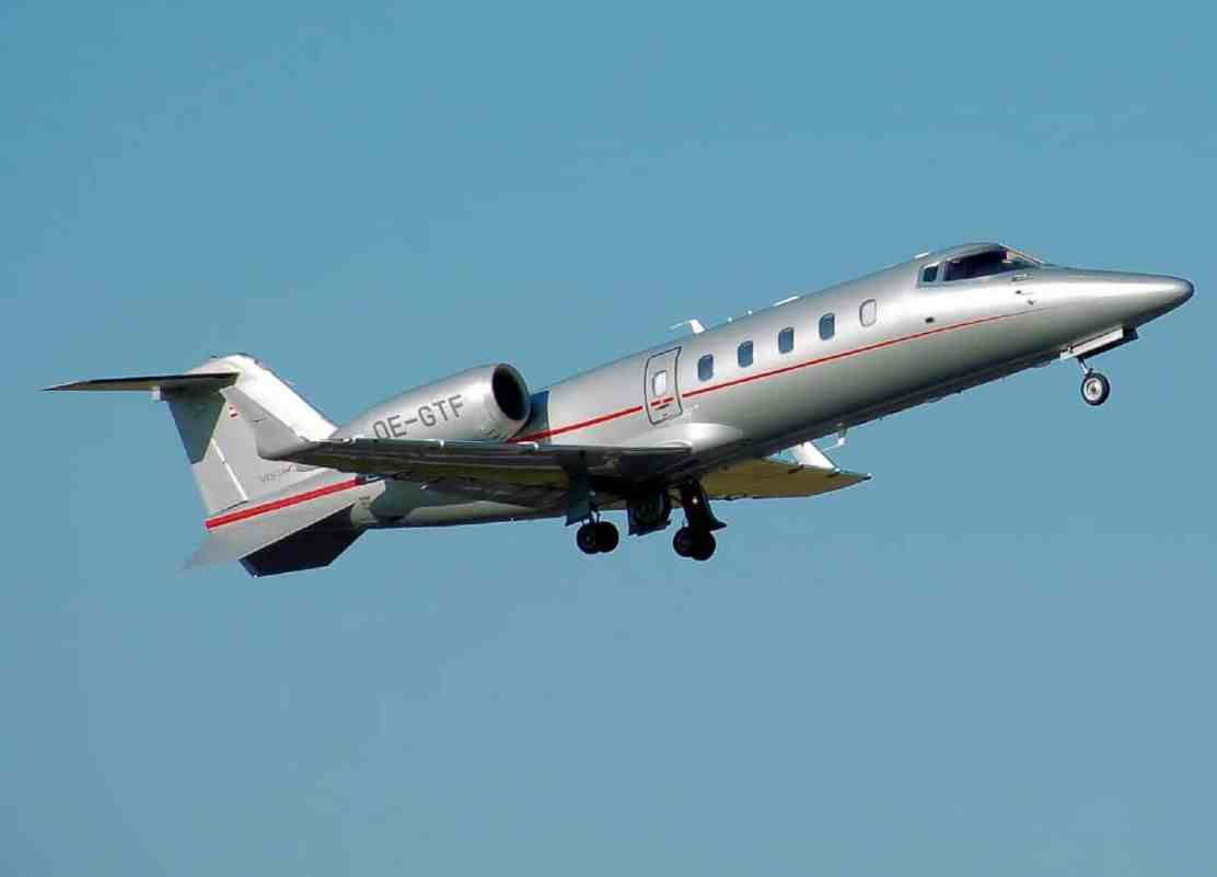 Jet privado: Learjet