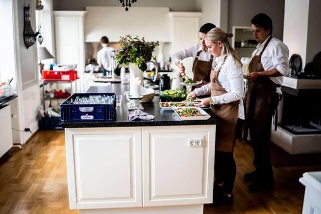 Auxiliar de Cocina