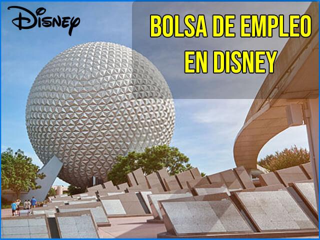 Bolsa de empleo Disney