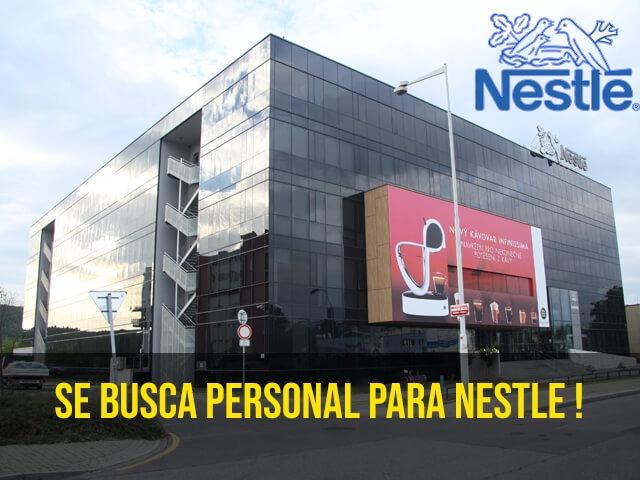 Trabajar en Nestle