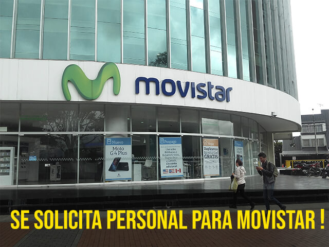 Trabaja en Movistar